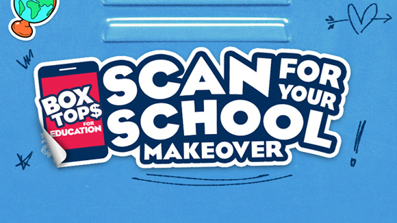 scan for your school makeover